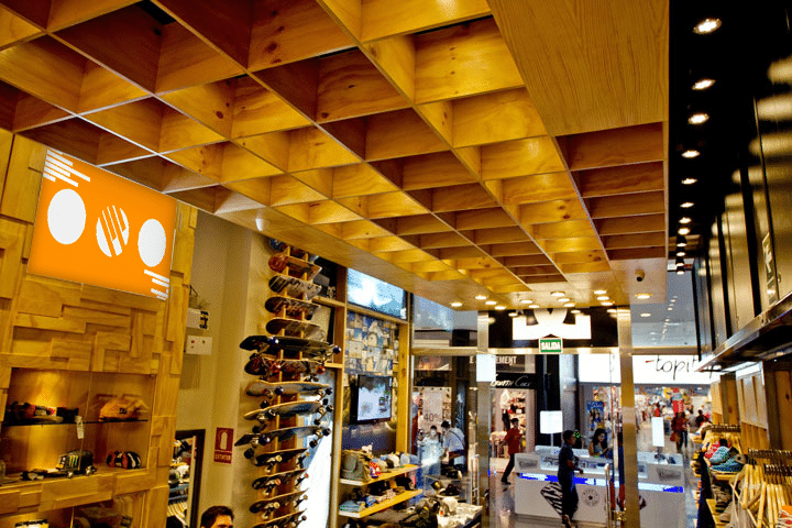 Store Interior Advertising