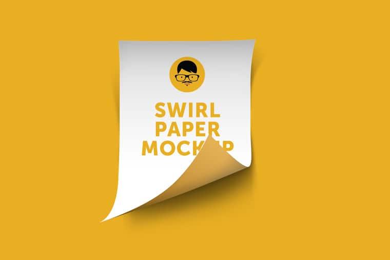 Swirl Paper Design