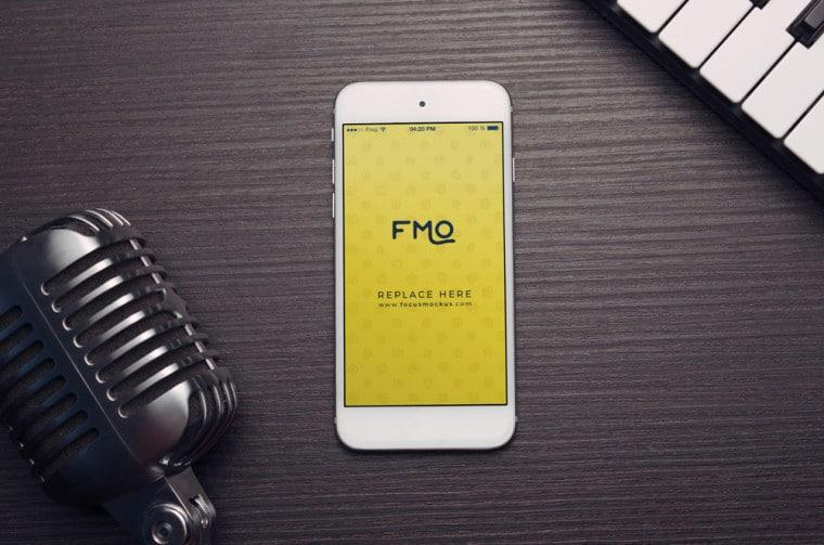 Smartphone Music Concept