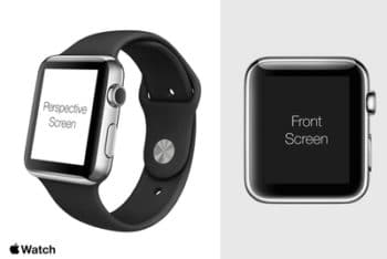 Apple Watch PSD Mockup Available With A Sophisticated Look