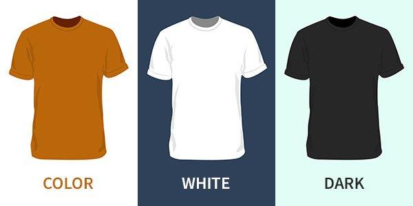 Blank Shirt Vector Designs