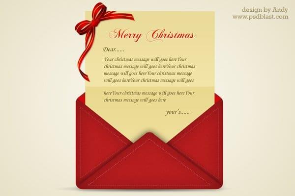 Christmas Greeting Letter