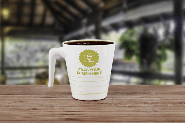 Coffee Cup PSD Template Design