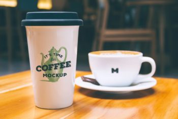 Free coffee Mug Mockup Available for Free in High Resolution
