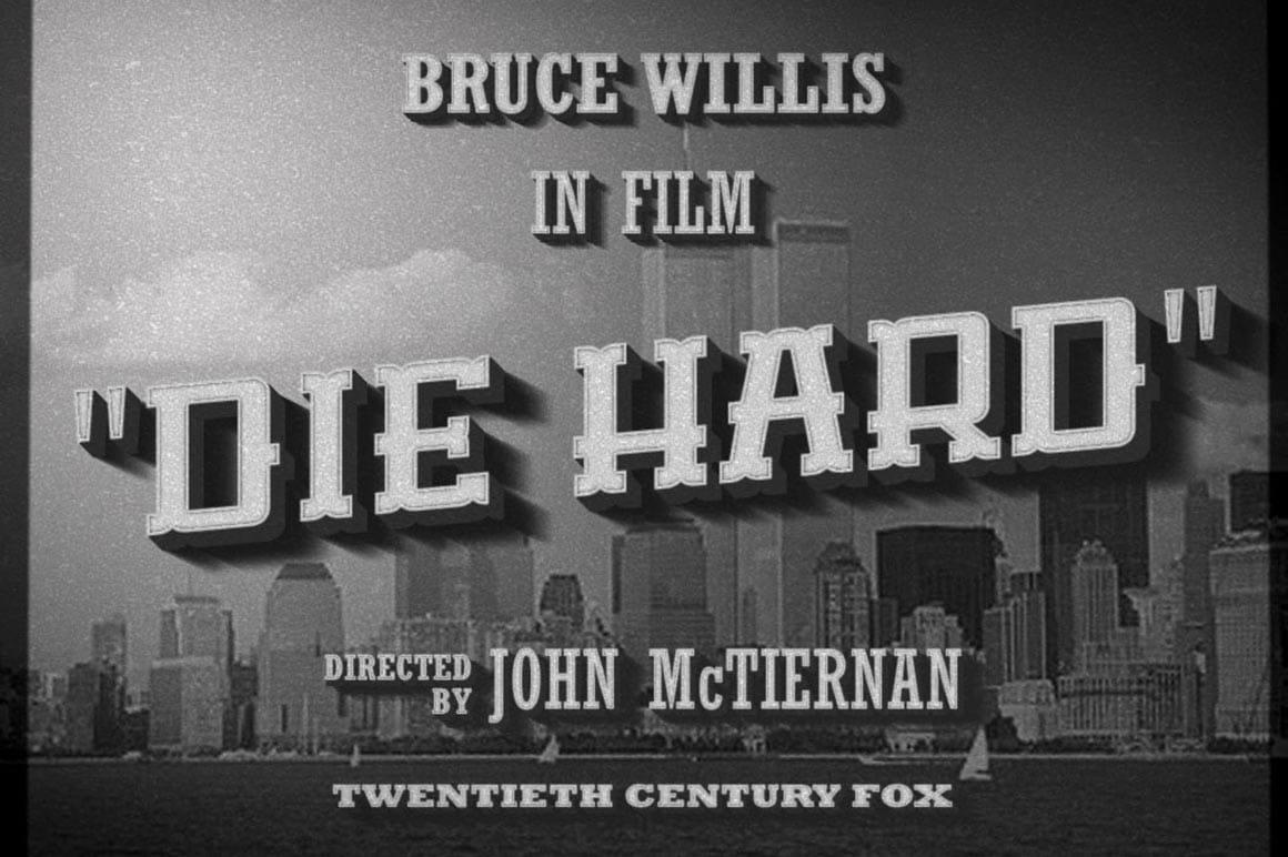 Vintage Cinema Text Effect