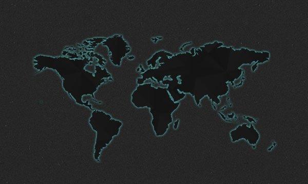 Dark World Map Design