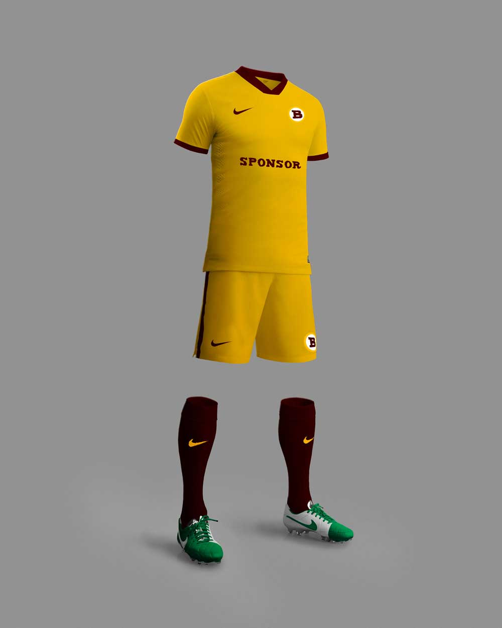 Download This Free Download Football Kit Mockup Designhooks