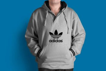 Free Download Hoodie Mockup In PSD