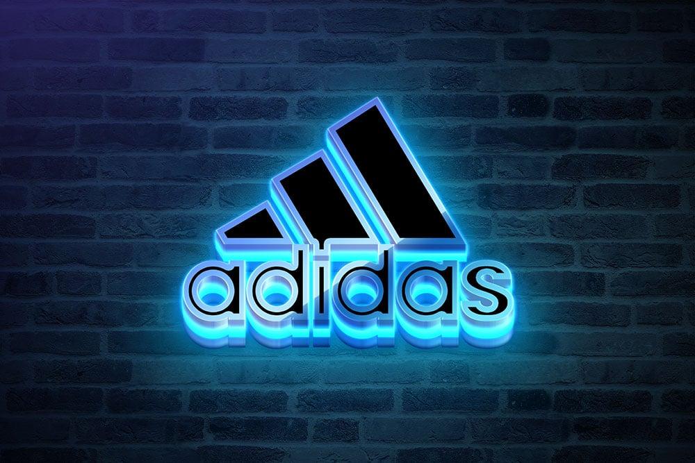 free download neon logo mockup1