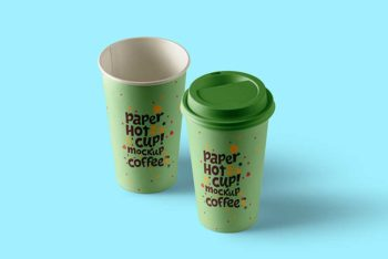 Free Download Paper Cup Mockup
