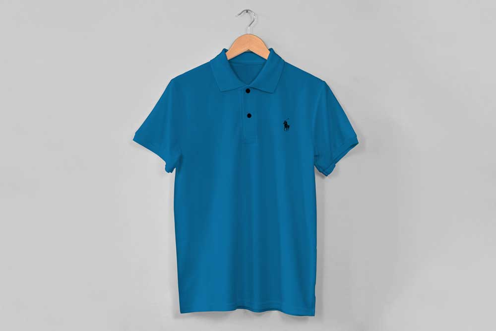 free download polo shirt mockup