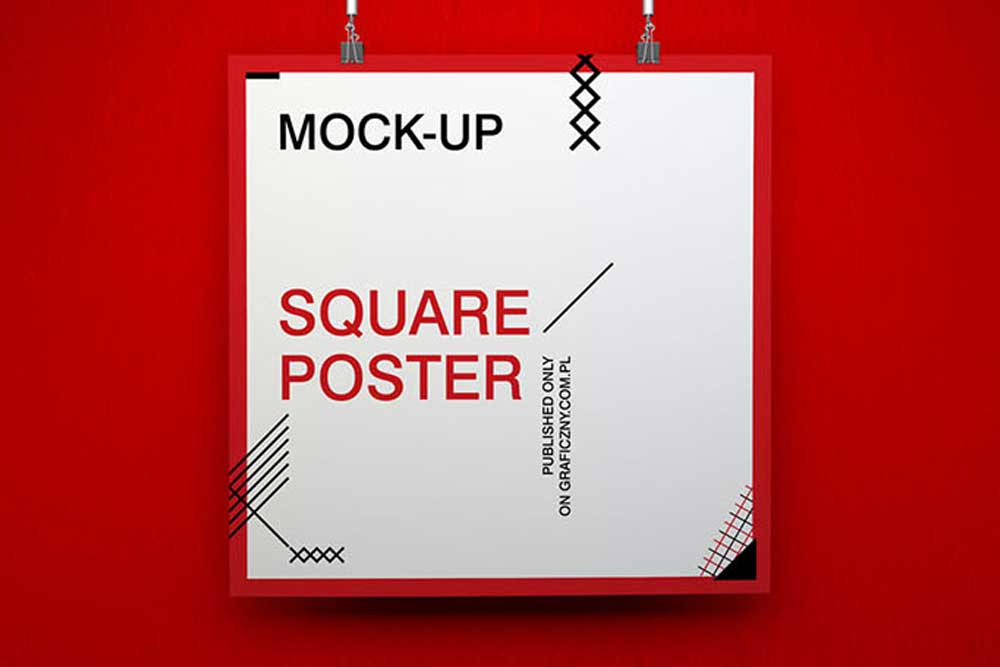 free download poster mockup