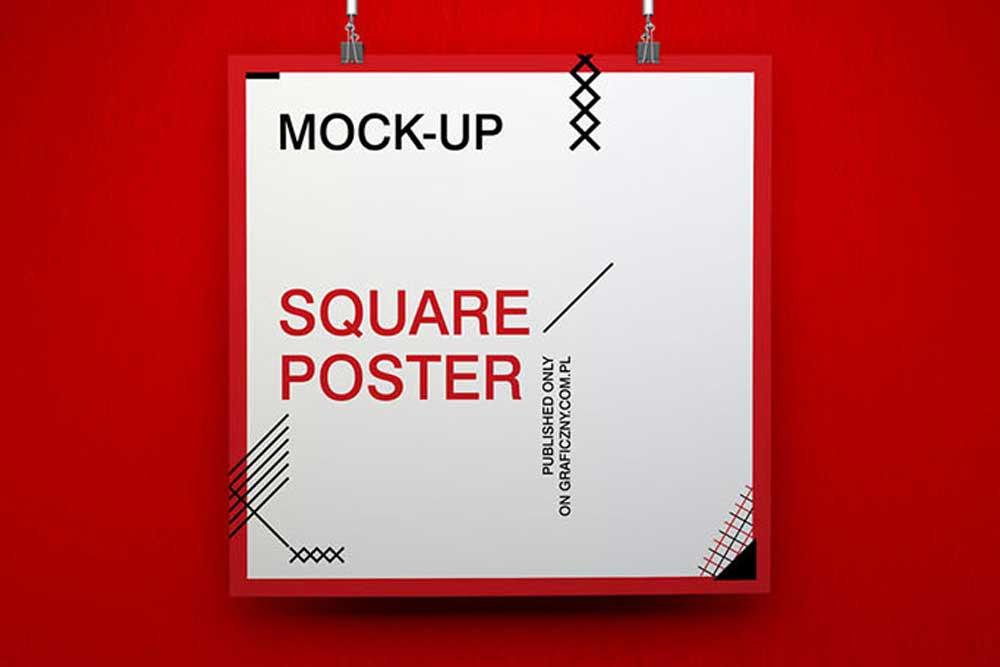 free download poster mockup