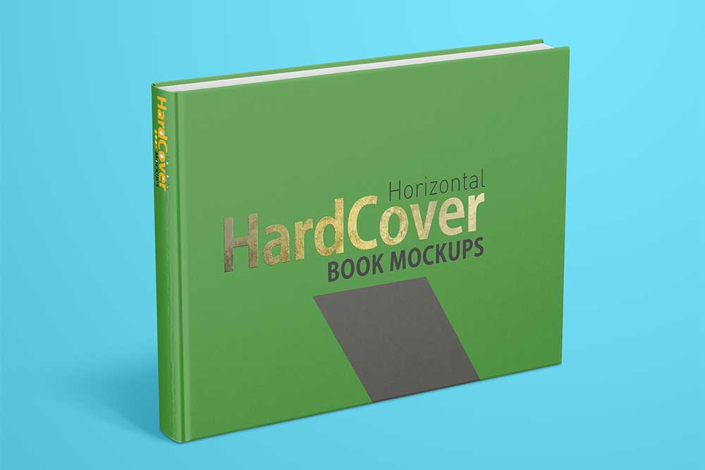 Download This Free Landscape Hardcover Book Mockup ...