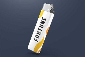 Free Download Lighter Mockup