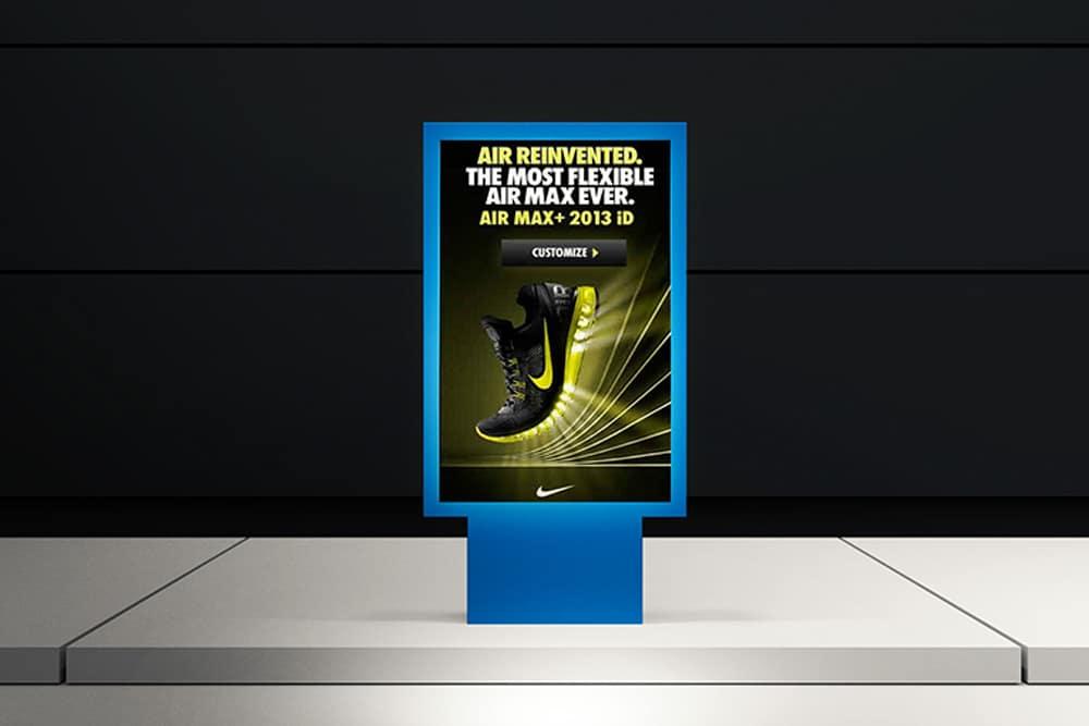 free metro street poster mockup