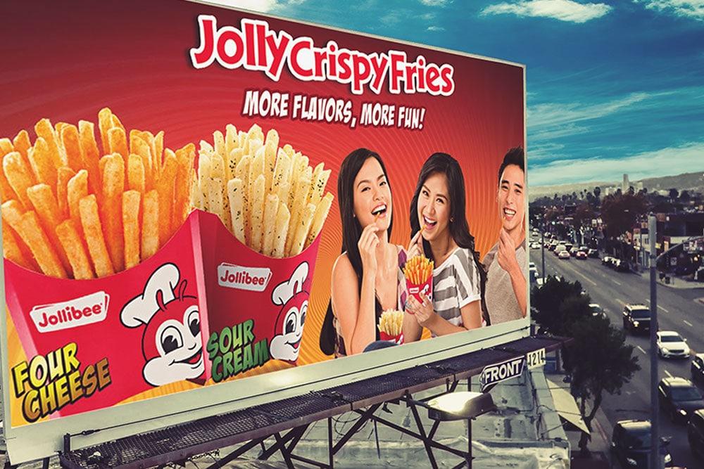 free psd billboard mockup
