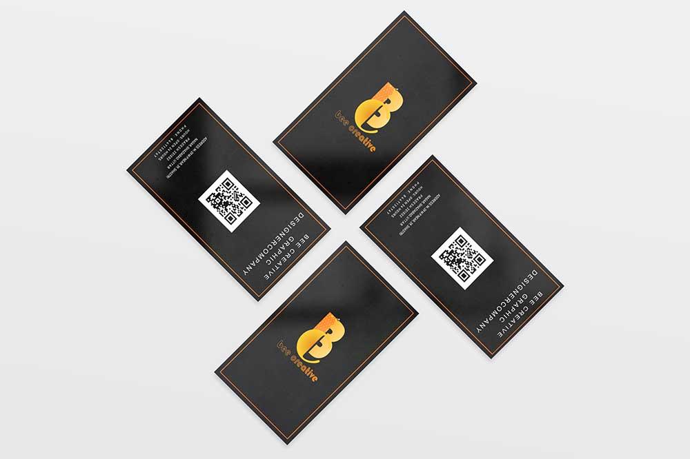 free psd premium business card mockup