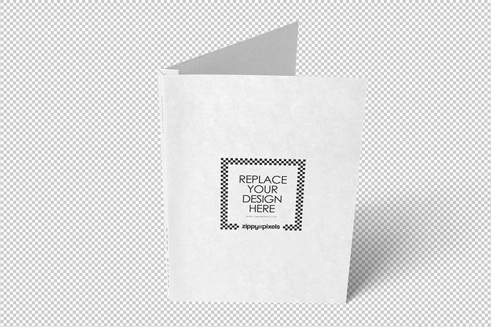free business presentation folder mockup