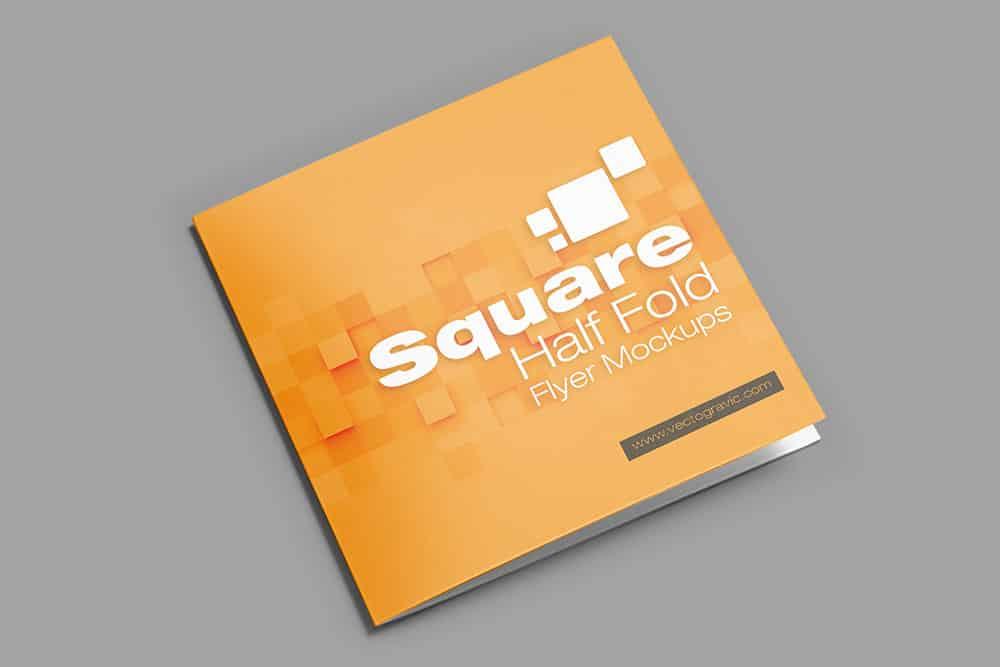 free square bifold brochure