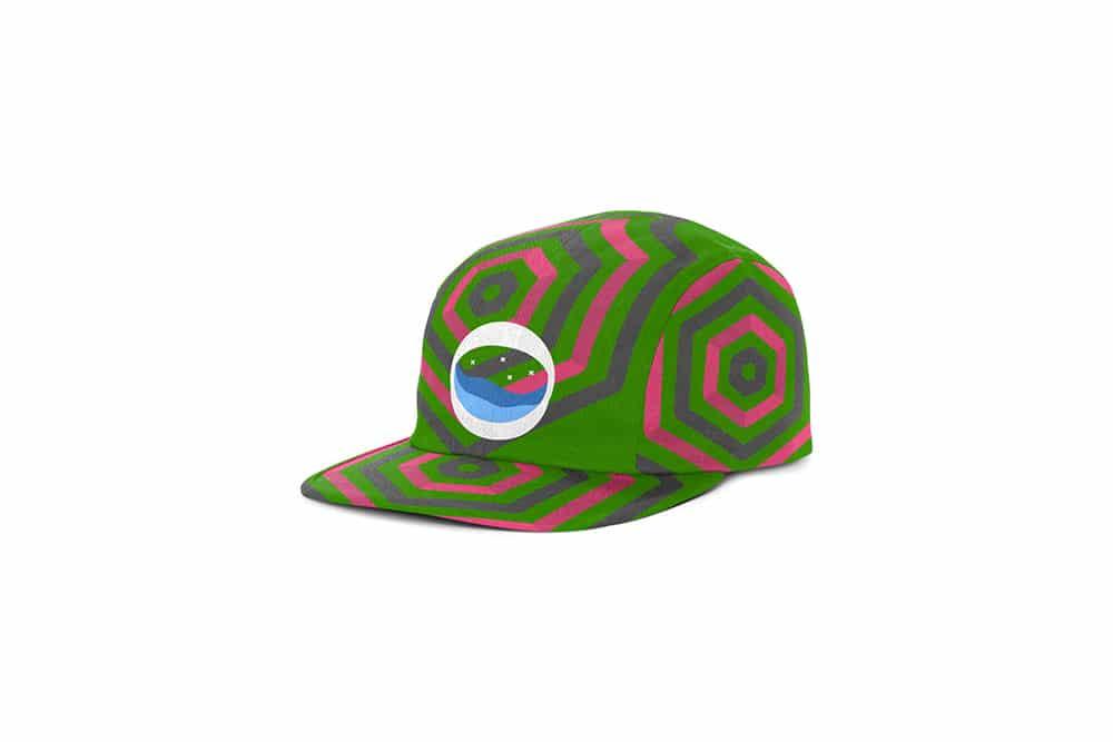 free unisex cap mockup