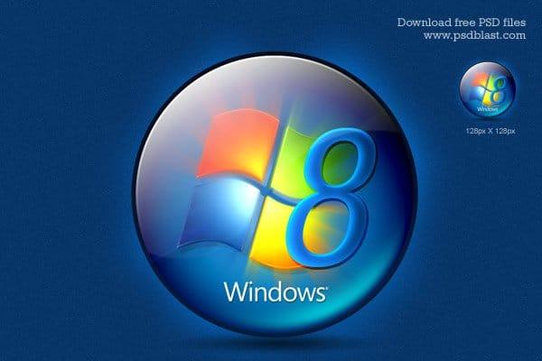 Round Windows Logo