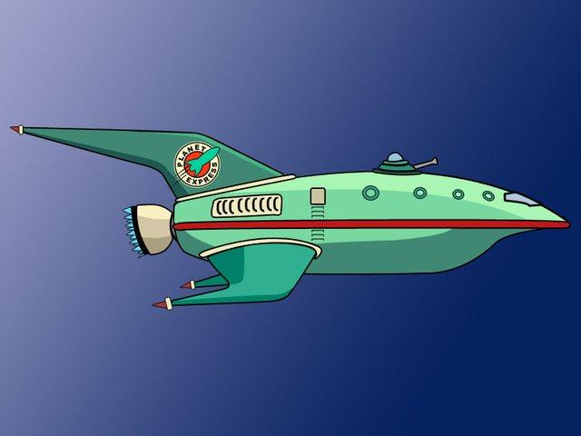 Futurama Ship Express