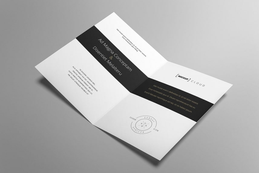 Free Greeting Card PSD Mockup Design