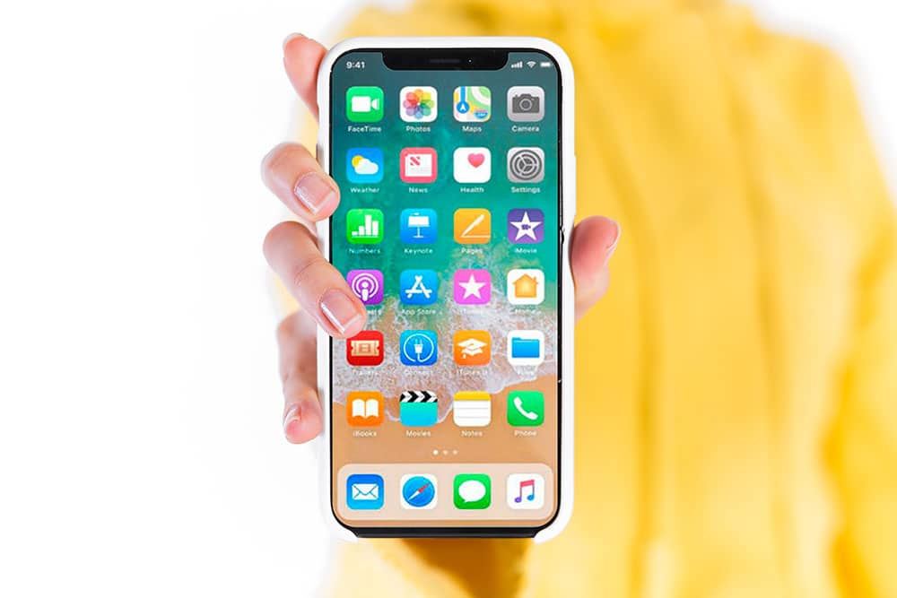 iphone x mockup free psd