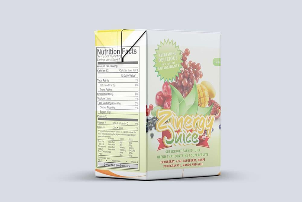 juice box mockup free psd
