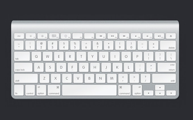 Elegant Apple Keyboard Design