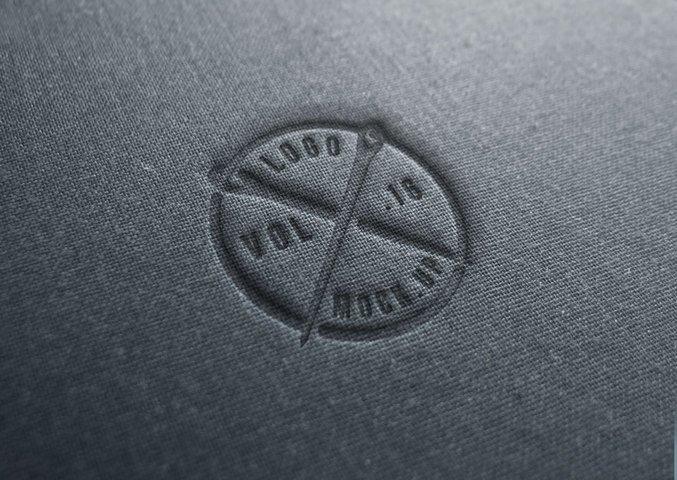 Realistic Linen Logo Design