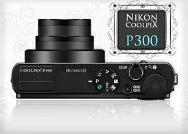Free Nikon Coolpix Camera Model Mockup in PSD