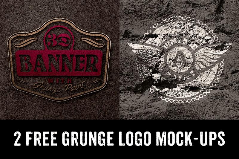 Cool Grunge Logo Design