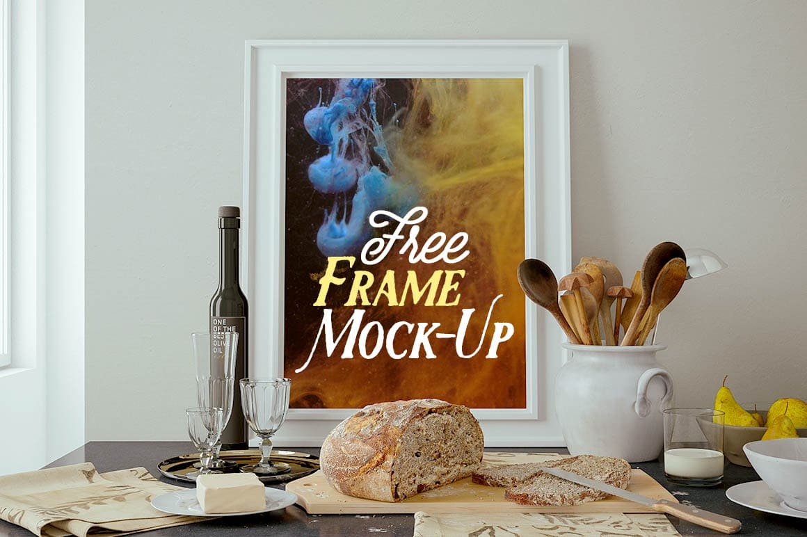 Classy Kitchen Frame Scene