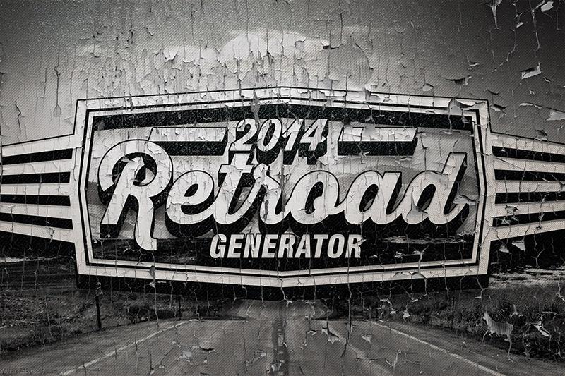 Shabby Retro Advertisement Generator