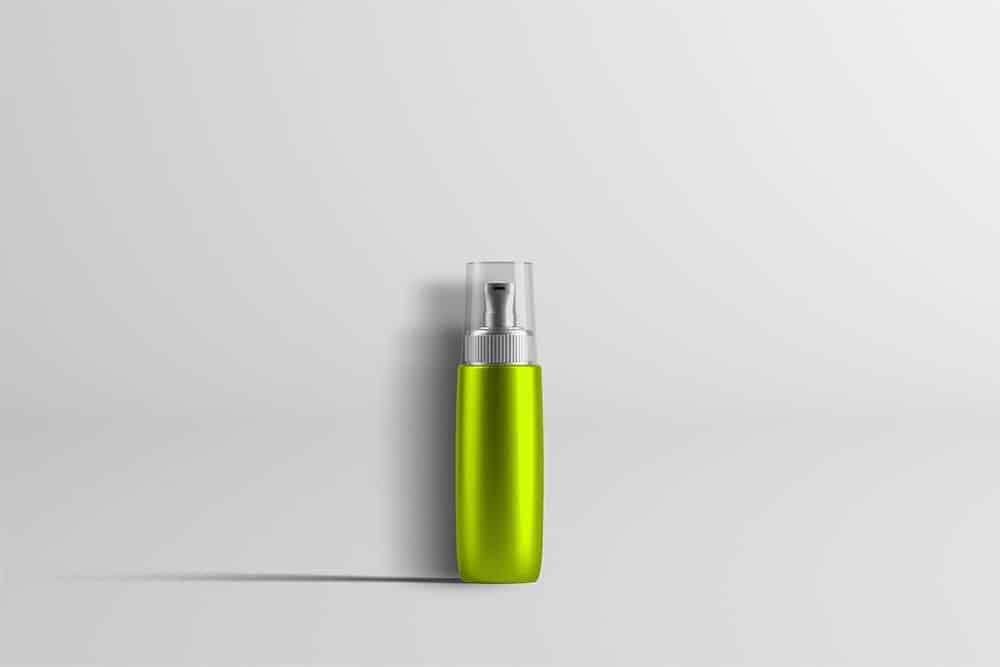 perfume bottle psd mockup