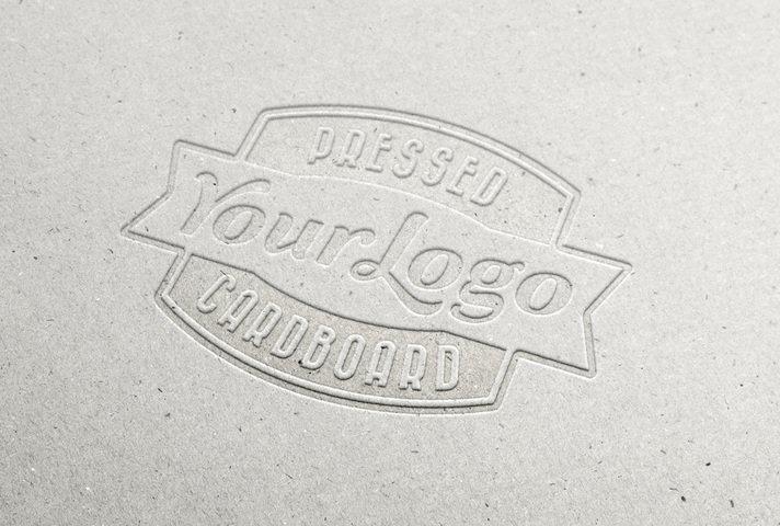 Pressed Cardboard Logo Design