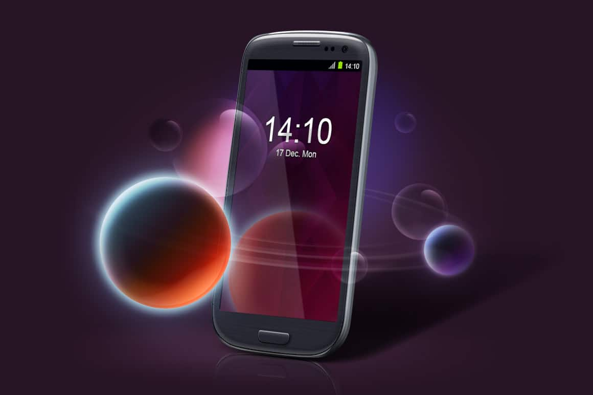 Old Android Phone Design