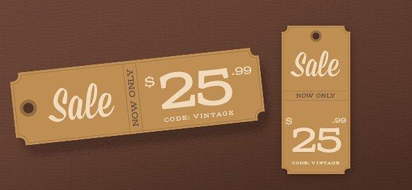 Price Tag Design