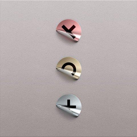 Foil Badge Sticker Design