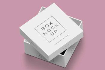 Free Download Square Box Mockup