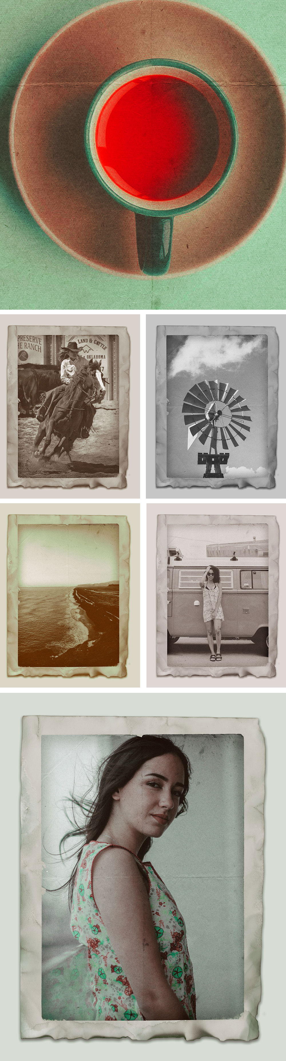 Vintage Photo Effect Design
