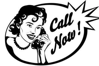 Free Woman Plus Telephone Mockup in PSD