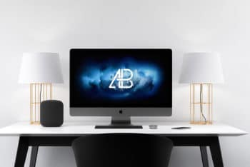 25 Spectacular iMac Mockups For Graphic Designers 2018