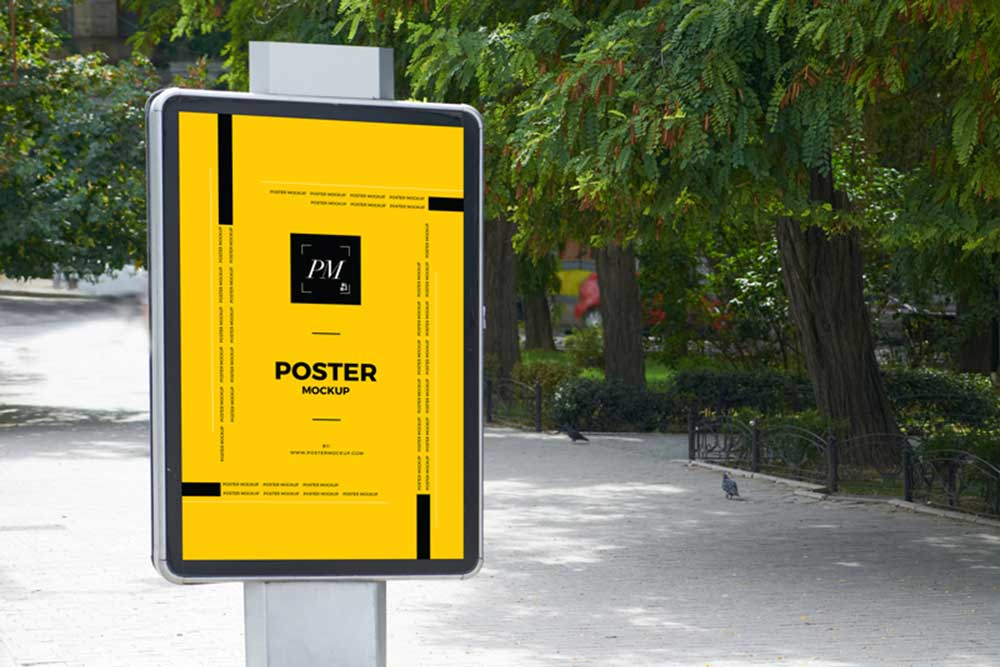 free poster mockups