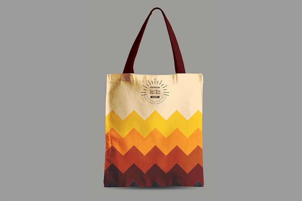 Fashionable bag mockups
