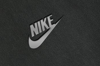 Free Debossed Logo Mockup