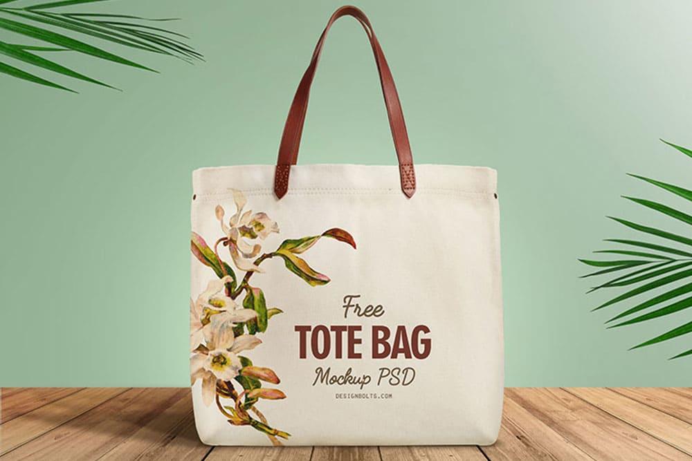 Cotton-Made Tote Bag PSD