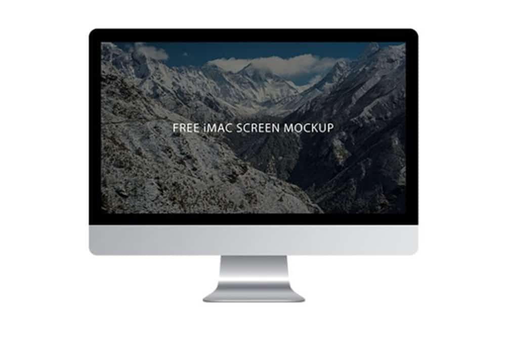 free imac mockups